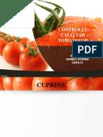 Controlul Calitatii Tomatelor