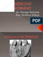 Derecho Romano Matrimonio