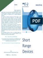 Short Range Devices