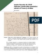 Fátima_MaikeHickson_DOCUMENTO SECRETO DE 1918 REVELA PLAN MASÓNICO_mayo2017.docx