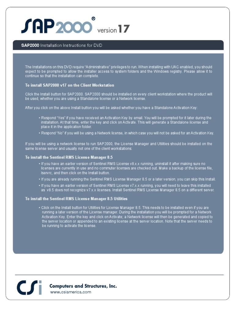 lesstabmort • Blog Archive • Sap 2000 v17 key activation