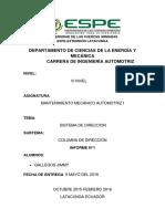 Informe Columna de Direccion