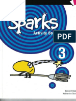 Sparks 3 activity book