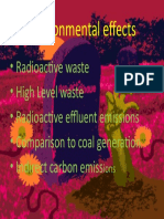 Basic Natural Sciences - Environmental Effects