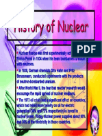 Student Presentation - History of Nuclear