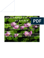 Basic Natural Sciences - Vulnerability of Plants to Attack