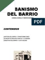 Urbanismo Del Barrio Oficial