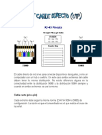 Pinout Cable Directo Open-network