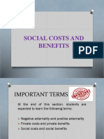 Unit 2.3 Social Costs and Benefits