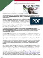 Jean-Louis Touraine va publier une tribune de désinformation pro-euthanasie