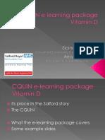 Presentation 4 Elaine Burfitt Amy Wilson Cquin e Learning Package
