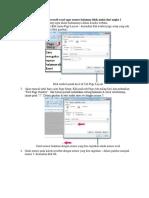 Cara Setting Halaman Di Microsoft Excel Agar Nomor Halaman Tidak Mulai Dari Angka 1