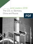 RatingWorldLeaders Report 2018
