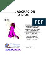 La Adoración a Dios