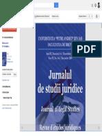 Jurnalul de Studii Juridice - Google Книги