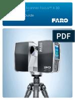 E1388 QuickStartGuide FARO Focus3D X 30 En