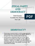 Political Party and Democracy