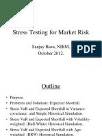 stress testing market risk