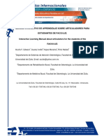 MANUAL INTERACTIVO DE APRENDIZAJE SOBRE ARTICULADORES PARA ESTUDIANTESDE FACO-LUZ