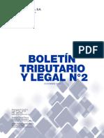 Boletín Tributario y Legal N°2