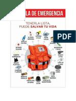 Maleta de Emergencia - como hacer una maleta para emergencias - primeros auxilios