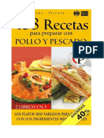 168 Recetas Para Preparar Con Pollo y Pescado