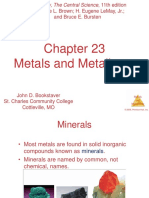 23 BROWN Metals and Metallurgy PPTS