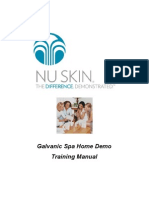 Galvanic Spa Workshop Instructions