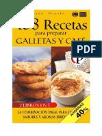 168 Recetas Para Preparar Galletas y Café