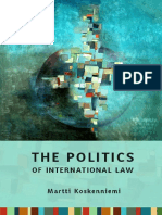 Koskenniemi, Martti. the Politics of International Law. PDF