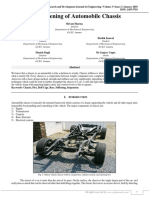 Strengthening of Automobile Chassis