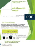 Uso Racional Del Agua & La Energía