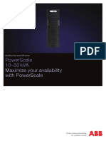 Brochure StandaloneUPS PowerScale33