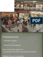 Shopping Malls and Consumerism
