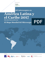 El panorama del microseguro en América Latina y el Caribe 2017