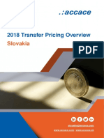 2018 Transfer Pricing Overview for Slovakia