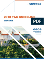 2018 Tax Guideline for Slovakia