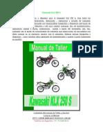 Kawasaki KLX 250 S