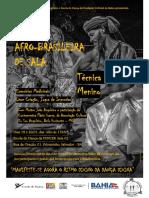 Cartaz Dança Afro
