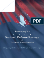 2018 National Defense Strategy Summary