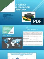 Análisis de La Política Pública Sobre Educación Superiorv1