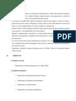 Trabajo de Drenaje - Av. Villon