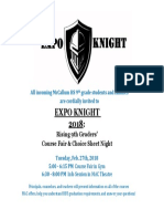 expo knight  2018 version