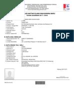 Daftar Ulang - 9991909071
