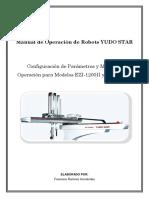 Manual Robot Descargador YUDO STAR