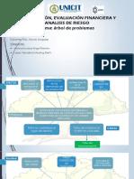 Arbol y Matriz de Planificación de Proyectos