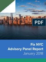 Fix NYC Panel Report