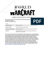 Warcraft 5e Monster Manual