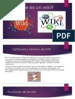 ¿Que es un wiki?