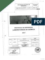 Protocolos Seguridad en Laboratorio de Quimica